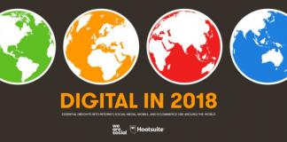 We Are Social 2018 İnternet Kullanımı ve Sosyal Medya İstatistikleri