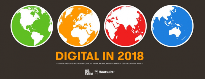 We Are Social 2018 İnternet Kullanımı ve Sosyal Medya İstatistikleri