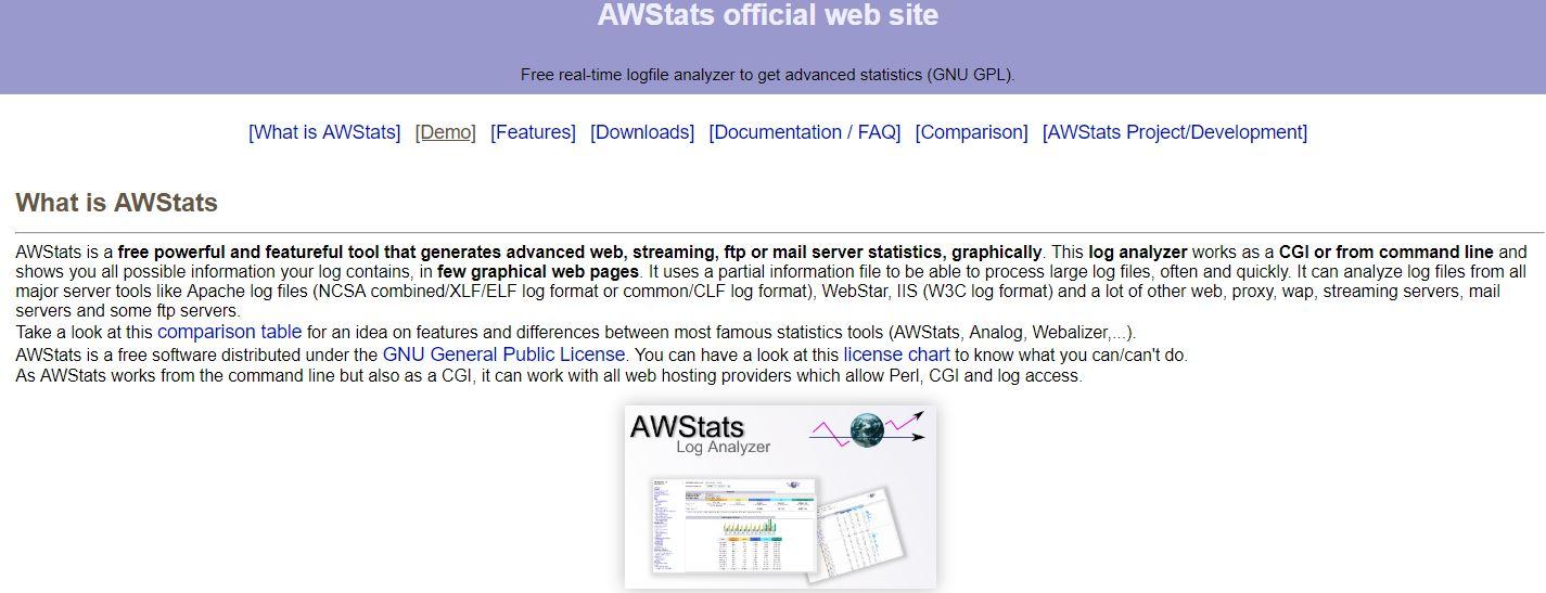 Web Site Analiz Aracı - AWStats