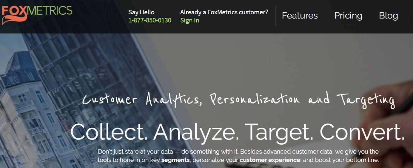 Web Site Analiz Aracı - FoxMetrics
