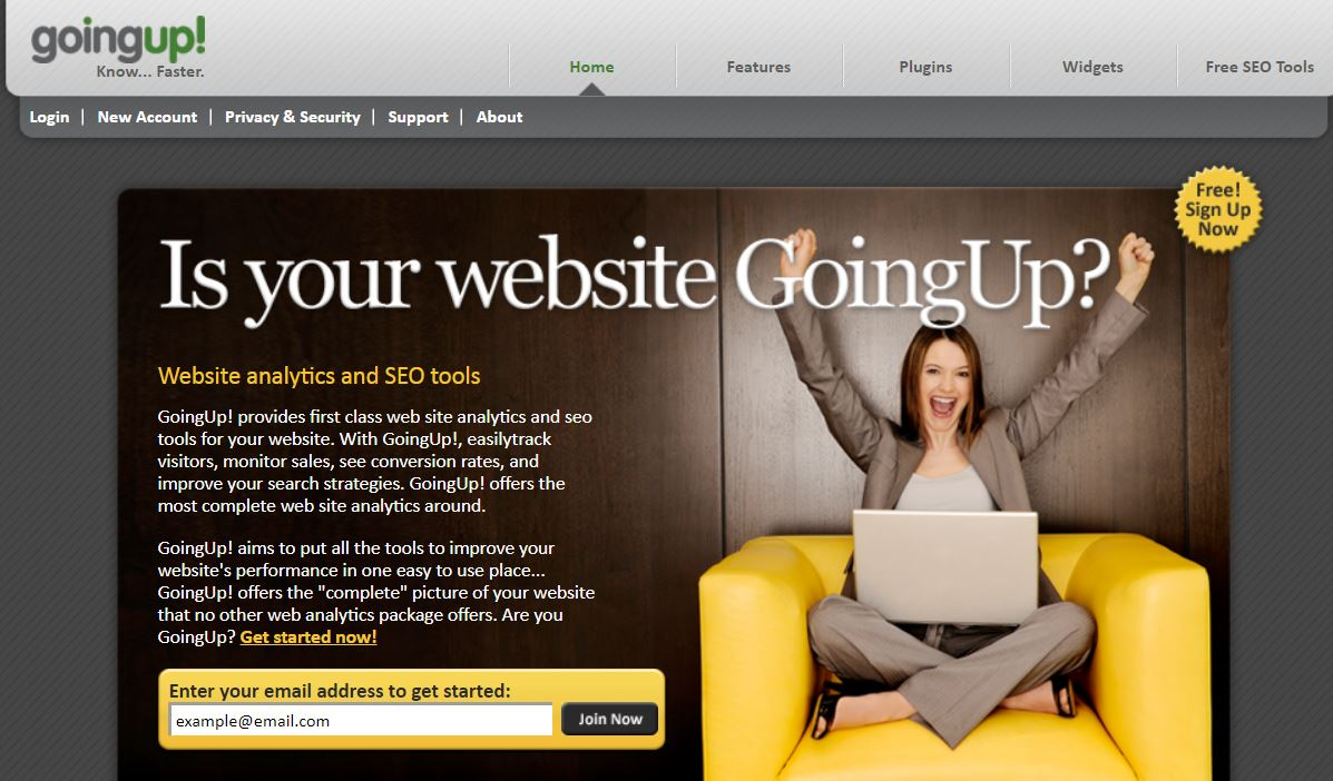 Web Site Analiz Aracı - GoingUp