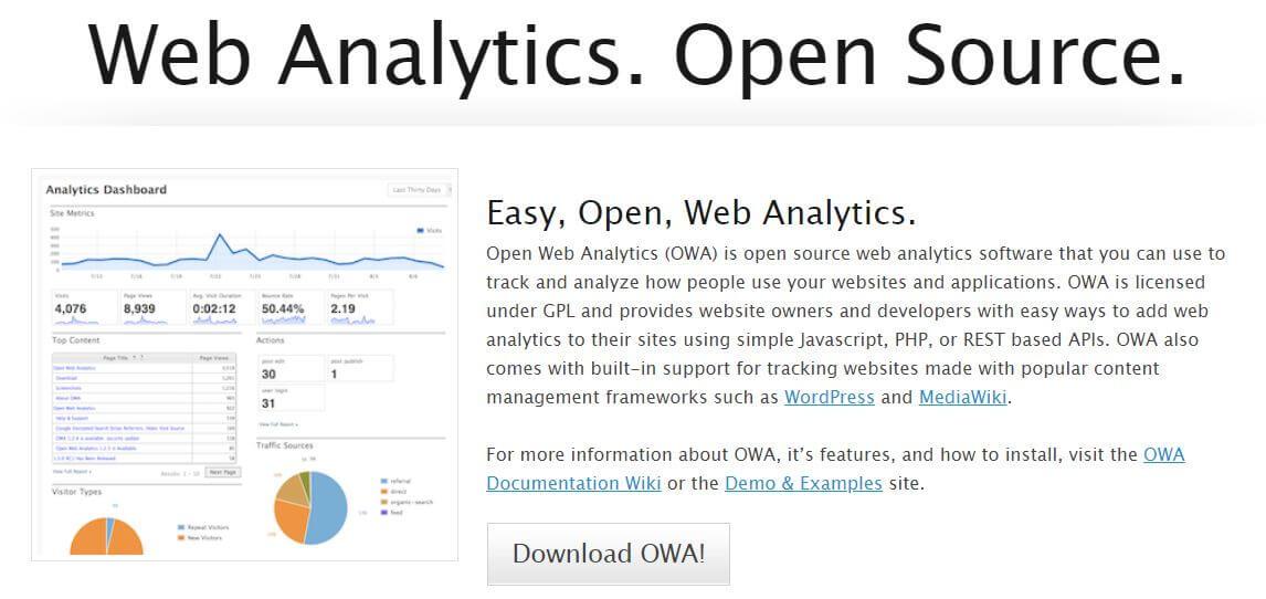 Web Site Analiz Aracı - Open Web Analytics