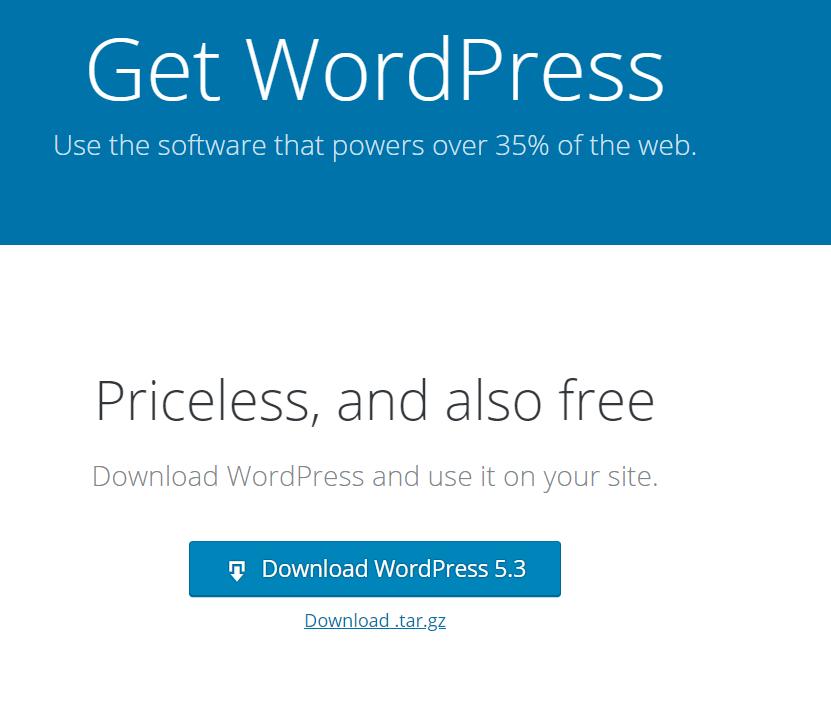 WordPress 5.3 Güncellemesi İndirme